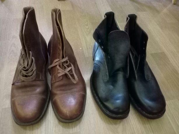 Angielskie buty wojskowe wojenne