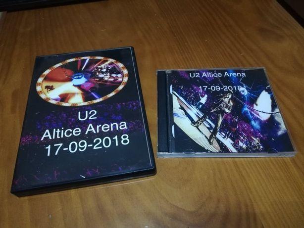 dvd + cd u2 altice arena segunda dia 17