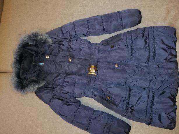 Пальто серое осень - зима