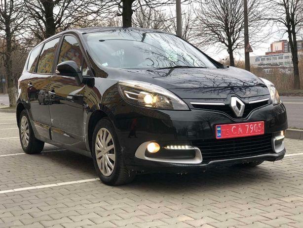 Renault Grand Scenic Рено гранд сценік 2014 рік