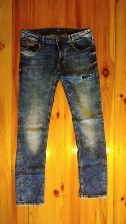 Jeansowe spodnie męskie 34/34