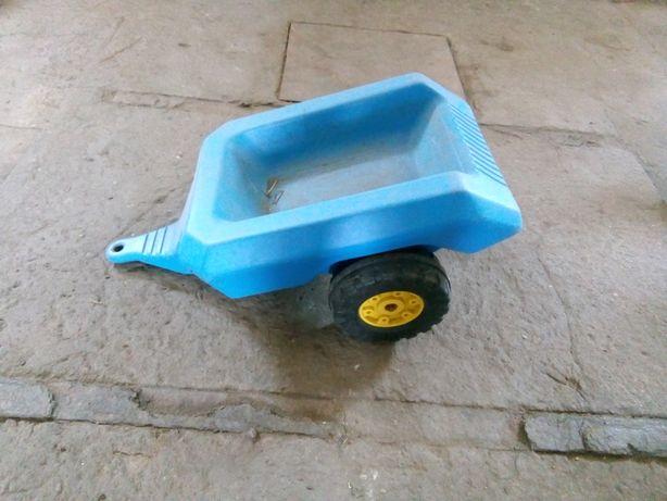 zabawka - przyczepka do traktorka