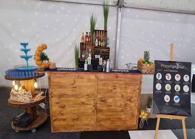 Barman na wesele / Prestige Bar / mobilny bar / usługa barmańska
