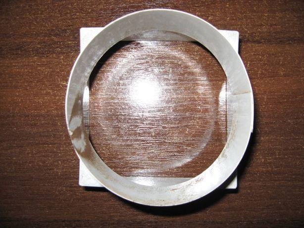 Переходник дымохода с круглого на квадрат
