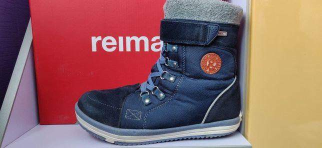 Оригинальные детские зимние водонепроницаемые ботинки Reimа,38 размер