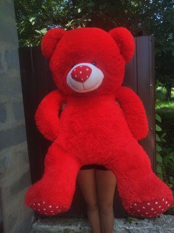 Красный, Плюшевый мишка