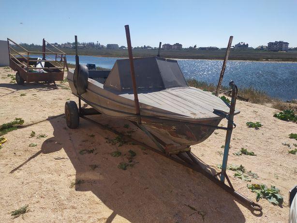 Лодка казанка5 мотор ямаха25