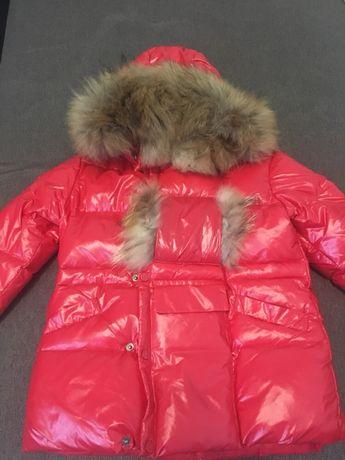 Продам детский зимний комбинезон для девочки фирмы Moncler