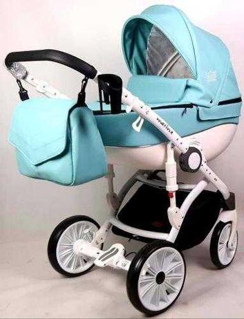 Wózek dziecięcy 2w1 gondola i nosidełko