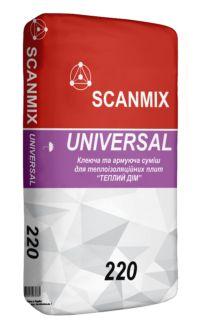 Scanmix Клеюча та армувальна суміш для теплоізоляційних плит