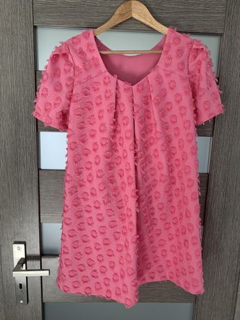Rozowa sukienka ZARA 164