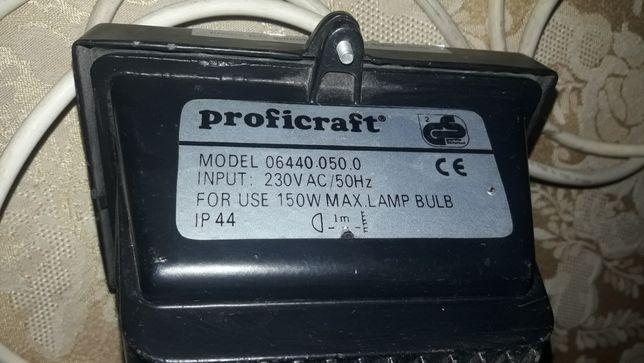 прожектор Profcicraft 150w с датчиком движения