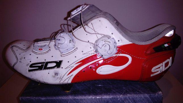 Buty rowerowe MTB SPD SIDI WIRE CARBON VERNICE,roz44,dł.wkł.27,5cm