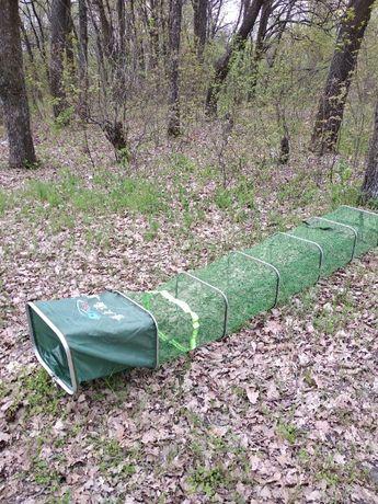Садок для рыбалки рыбы рыболовный прорезиненный 4 м с сумкой