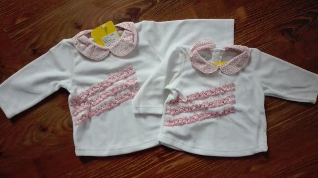 NOWA śliczna bluza bluzeczka rozmiar 56, 68 Tup Tup