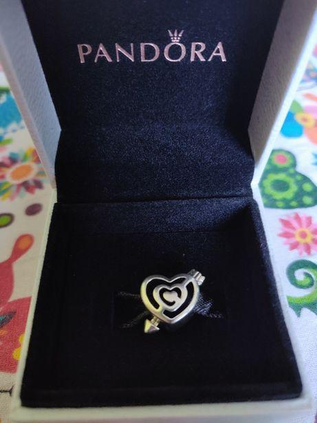 Pandora Charms Serce Strzała Miłość