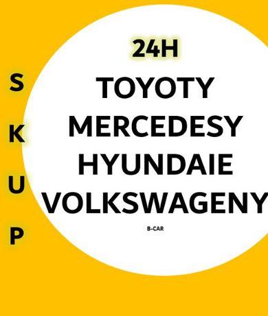 Skup TOYOTA Hiace Corolla Avensis Mercedes Sprinter Kaczka Atos H100