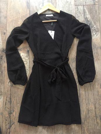 Nowa czarna sukienka r.S NA-KD