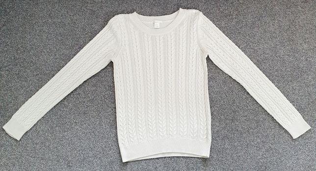 Jasny sweter h&m xs 34 s 36