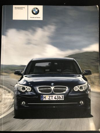 Vendo Livros instruções, Manual Bmw 520, 523, 525, 530, 540, 535, 550