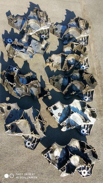 кронштейн вискомуфты,передняя плита термомуфты Ауди 2.5тди 0599121313F