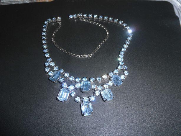 Винтажное ожерелье с натуральными топазами