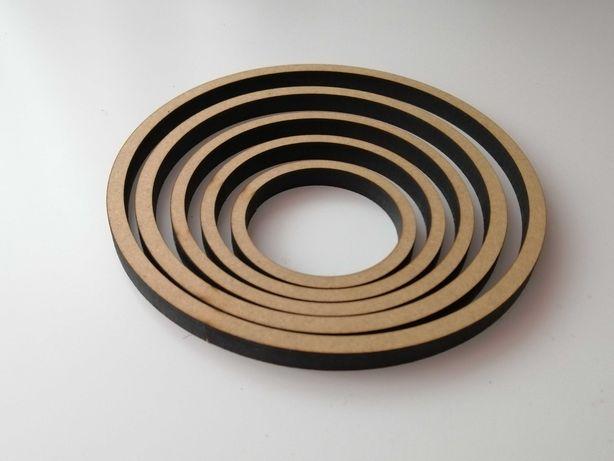 Деревянная заготовка, основа-кольцо для ловца снов. Диаметр 6-12 см