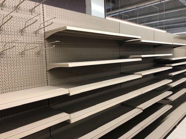 Regały sklepowe metalowe nowe i używane Regał sklepowy 2,1m