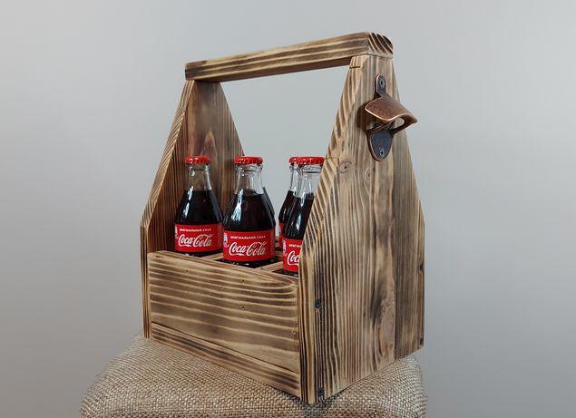 Подарунковий ящик Coca Cola з вікривачкою