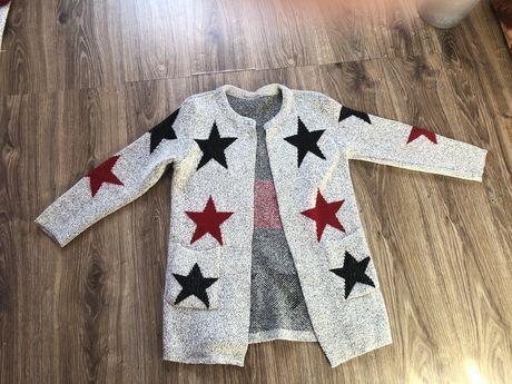 Кофта теплая со звездами