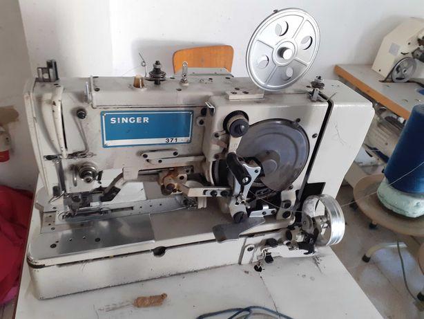 maquina de casear Singer e maquina de pregar botões de pé. 500 euros