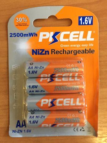Аккумулятор PKCELL 1.6V Ni-Zn 2500 mWh AA