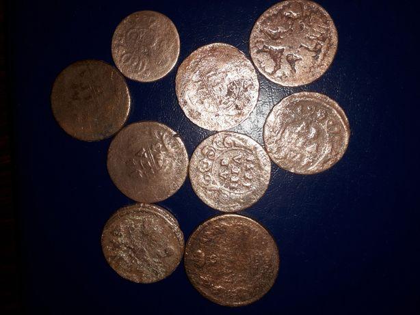 Монеты медные, царские.