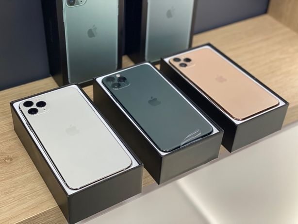 New Open Box Iphone 11 pro max 512 gb neverlock Гарантія Appteka