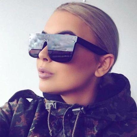 Солнцезащитные очки леопардовые коричневые
