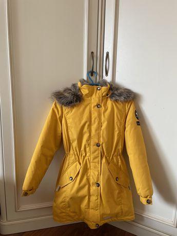 Зимная куртка-парка детская