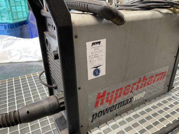 Plasma HYPERTHERM POWERMAX 1100 80A przecinarka plazmowa wypalarka