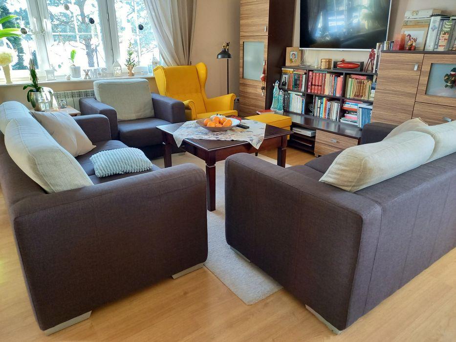 Zestaw wypoczynkowy, sofa, (kanapa), fotel. Trójka. Swarzów - image 1