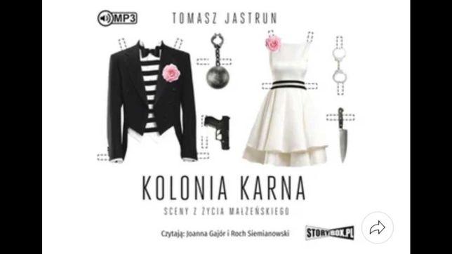 Kolonia karna. Sceny z życia małżeńskiego - Tomasz Jastrun (książka)