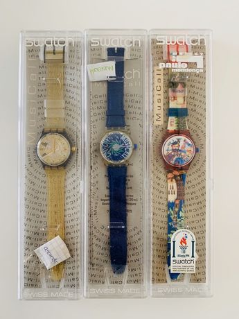 3 Swatch Musical