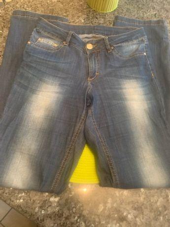 Spodnie jeans Elisabetta Franchi