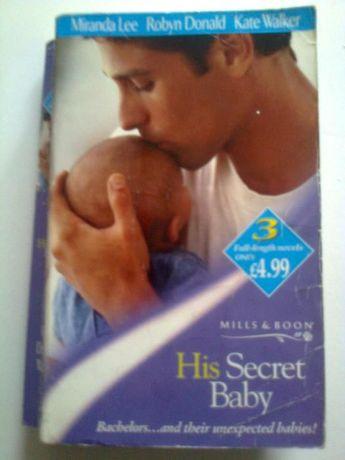 romanse Harlequin His Secret Baby - M. Lee, R. Donald, K. Walker