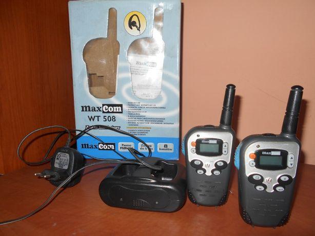 Krótkofalówki Maxcom WT-508(pmr 446 Mhz)