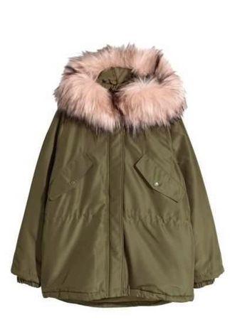 Куртка курточка Парка пальто фирмы H&M