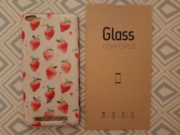 Чехол и пленка для Xiaomi Redmi 3