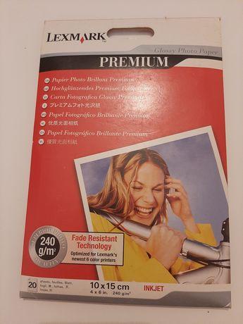 Lexmark Papel Fotográfico Brilhante Premium