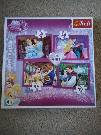 Puzzle Disney dla dziewczyny