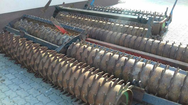 Wał Packera 3m, 4m, 4,5m agregat brona wirowa Maschio, Rabe Werk, KUHN