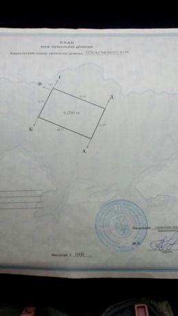 Земельна ділянка 12 с. для індивідуального садівництва