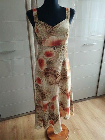 Sukienka długa rozmiar z metki 38